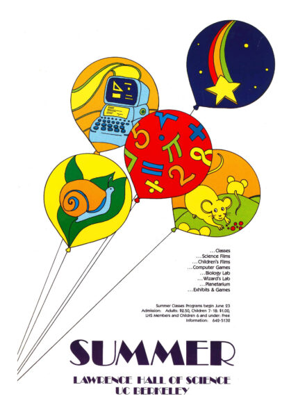 Archived poster from The Lawrence's Summer Program
