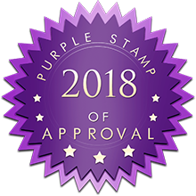 2018 Purple Stamp of Approval