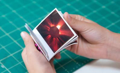 Solar Flare Flip Book