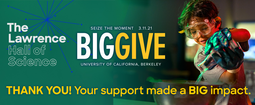 BIG GIVE 2021 THANK YOU! Your support will make a BIG impact