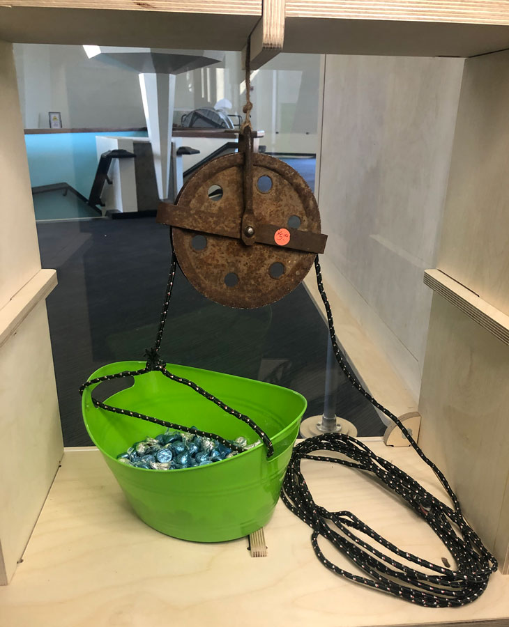 candy pulley artifact