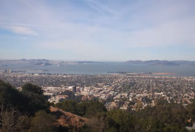 A view of the Bay Area from The Lawrence during the day